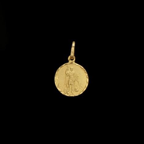 Pingente, Ouro, santo expedito, 0.7gr